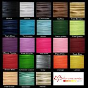 Buy 3 Get 3 Free 10 Mtrs 1mm / 1.5mm Waxed Cotton Thong Cords Thread Shamballa