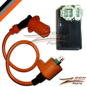 Cdi Box Performance Ignition Coil Gy6 Moped 49cc 50cc