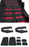 Ferrari Dino 206 246 Gt Gts Red Leather Seat Covers New