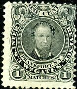R088a Wm Gates Matches Stamp Used On Old Paper Bn3828