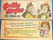 Quaker Gabby Hayes The Frame Up Rare Mini Comic Promo Giveaway Cereal Premium