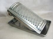 Antique Inox Tin Circular Cheese Grater 1950s Germany