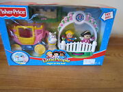 Fisher Price Little People New Box Castle Night At The Ball Princess Set