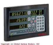 Newall Dp700 Digital Readout Milling Machine Package 12 X 24 Other Sizes Avail