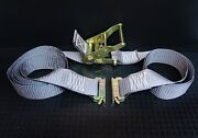 8 16and039 E Track Ratchet Tie Down Straps For Box Truck Trailer Enclosed Cargo Van