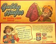 Quaker Gabby Hayes Double Cross Brand Mini Comic Promo Giveaway Cereal Premium