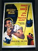 Rare Old Barney Ross Large Movie Boxing Poster Jewish Champion