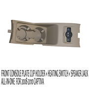 Front Console Cup Holder + Heating Switch All In One 1p For 06 10 Chevy Captiva