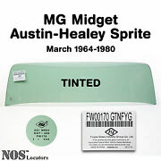 Mg Midget, Ah Sprite 1964-80 Tinted Windshield Glass New - Pickup Only