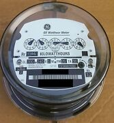 Ge- Electric Watthour Meter Kwh Type I70s I-70s Fm 2s 240v 200a 5 Pointer