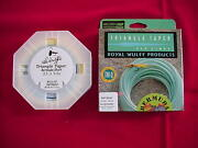 Royal Wulff Fly Line Bermuda Triangle Taper Short 7 Line Great New
