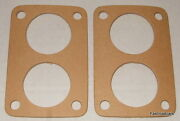 Weber 40 Dcnf Carb/carburettor To Manifold Gaskets X2
