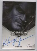 X-men 3 X3 The Last Stand Trading Cards Auto Kelsey Grammer Beast Nm V2