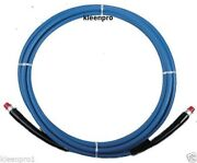 150' 4000 Psi Solution Hose With Qd Hydro-force Ah174 Carpet Cleaning