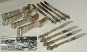 Towel Sterling El Grandee 5 Pl Setting Service For 8 Great Condition 40 Pieces