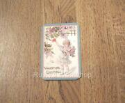 Reproduction Antique Valentine Girl Hang / Wrist Tags For Your Dolls 2