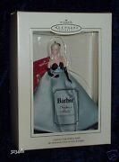 2004 Hallmark Lisette Barbie Fashion Model Collection Ornament W/ Display Stand