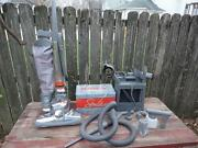 Kirby Sentria Vacuum Cleaner W Carpet Shampoo Attachments And Hoses Nice