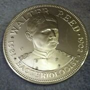 26.3 Gram 1973 Walter Reed Commemorative Sterling Silver Art Round