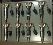 04 Ford 6.0l Powerstroke 100 Hp Performance Injector Set Reman 609-432-1070