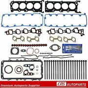 Fits 99-00 Ford 4.6l Sohc V8 Mustang Gt Full Gasket Set W/ Head Bolts And Sealant