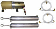1969-1970 Mercury Cougar And Xr-7 Convertible Top Pump Motor, Cylinders And Hose Set