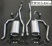68 Chevelle Ss 396 Big Block Complete Exhaust System Mufflers Hangers Tail Pipes