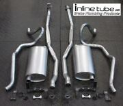 68 Chevelle Ss Small Block Complete Exhaust System Mufflers Hangers Tail Pipes