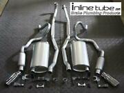 70-72 Chevelle Ss 396 454 Ls3 Ls5 Ls6 Compete Lexhaust System Resonators And Tips