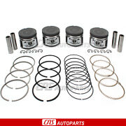 Fits 85-95 Toyota Pickup 4runner Pistons And Rings .020 Oversize 22re