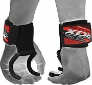 Rdx Weight Lifting Hook Wrist Straps Hand Support Grips Powerlifting Gym Wraps