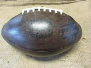 Vintage 1962 Wilson F 1134 Official Ya Tittle Leather Football Antique Ball 8055