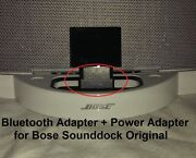 A2dp Bluetooth Music Receiver + Power Adapter For Bose Sounddock I And Wave
