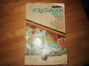 Chiltons Volkswagen 1970-77 Repair And Tune Up Guide Beetle Super Transporter Ka
