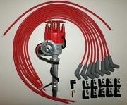Big Block Chevy 396-454 Red Small Hei Distributor, Universal Spark Plug Wires 45