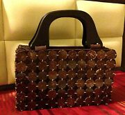 Only 1 Sellout, Tote Bag Of Cebu, Local Handmade Bags With Coco Shell And Wood