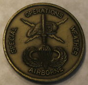 18th Weather Squadron Special Operations Airborne Challenge Coin
