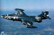 Grumman F-9 Cougar Fighter Aircraft Wood Model Replica Large Free Shipping