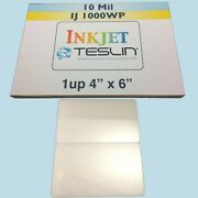 10 Id Card Kit Inkjet - Includes 1up Perforated Teslin And 7mil Butterfly Pouches