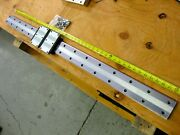 Giant Thk Linear Rails 1240mm 49 70mm Wide Double Carriages Blocks Hrw35 Guide