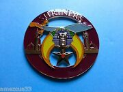 Shriners Universal Cut Out  High Quality Car Emblem 3 Inches