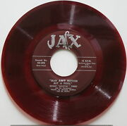 Sonny Terry Brownie Mcghee Main Ainand039t Nothin.../l I Donand039t Worry 45 Red Vinyl Jax