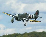 Hawker Typhoon Fighter-bomber Aircraft Wood Model Replica Large Free Shipping