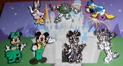 Wdw Complete Set Of Disney Pin Trader Icons - 2013 Hidden Mickey Pins