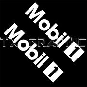 Decals For Mobil 1 Oil Lubricant Performance Vinyl Sticker