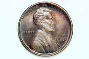 Key Date Mint State 1910 Brown Lincoln Wheat Ears Reverse Small Cent Don007