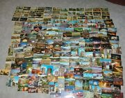 209 Vintage 1940and039s-1960and039s Hollywood California Postcards All Different