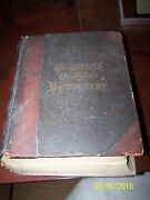Websters Unabridged Dictionary Leather Bound 1885 In Great Condition For Its Age