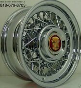 Cadillac Wire Wheels All Yrs. Rear Wheel Drive Only. Us Hand Made. Independent.