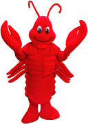 Lobster Professional Quality Mascot Costume Adult Size